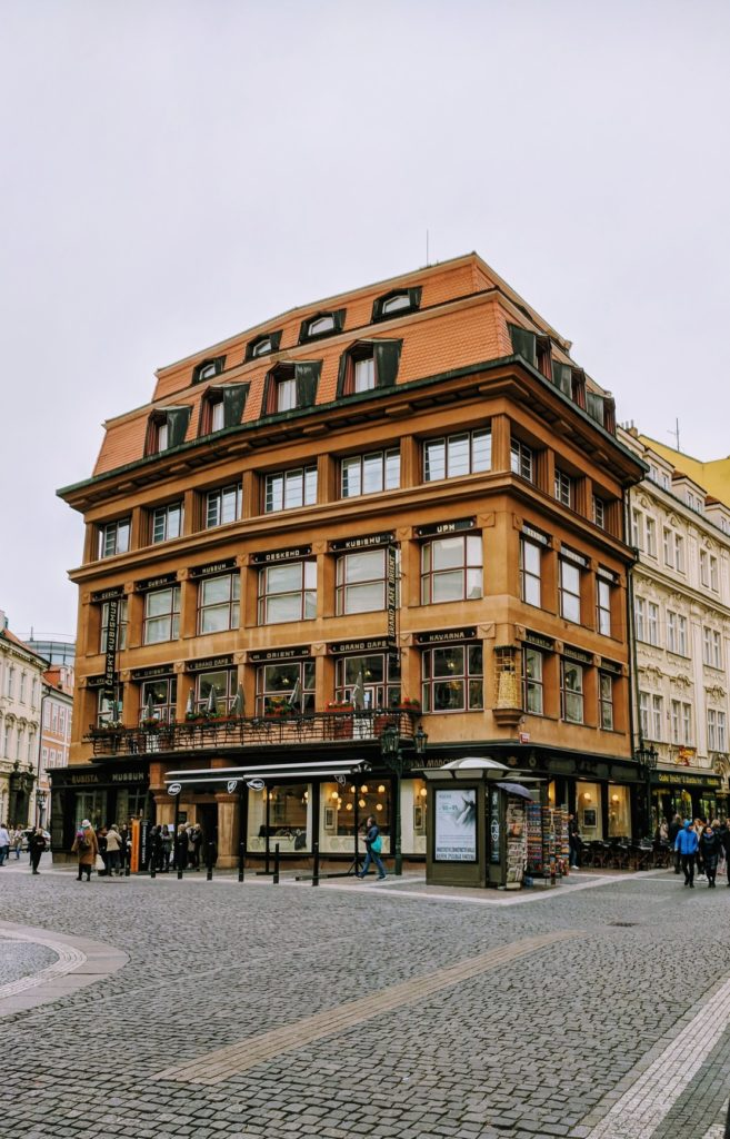 The first cubist house in Prague